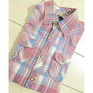 スコッチアンドソーダ(SCOTCH & SODA)の美品/SCOTCH&SODA チェックシャツ メンズ(シャツ)