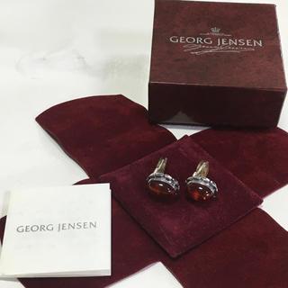 ジョージジェンセン(Georg Jensen)の送料込み ジョージジェンセン イヤリング石付き 925(イヤリング)