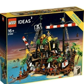 レゴ(Lego)の【新品未使用品】レゴ 赤ひげ船長の海賊島 21322(模型/プラモデル)
