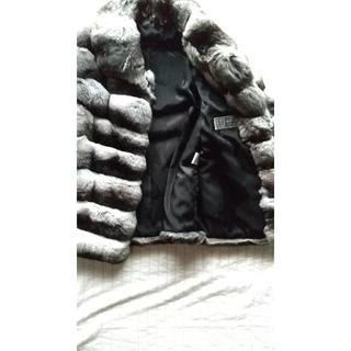 チンチラファージャケット(毛皮/ファーコート)