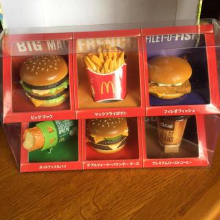 マクドナルド(マクドナルド)のマクドナルド フードストラップ コンプリートボックス(その他)