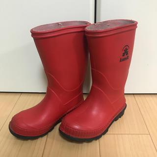 ハンター(HUNTER)のカミックkamik 子供用レインブーツ 長靴(長靴/レインシューズ)