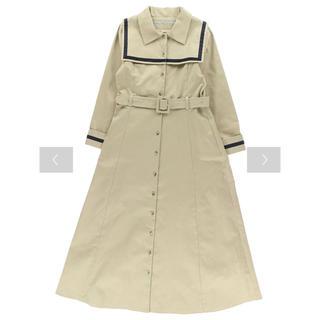 メゾンドフルール(Maison de FLEUR)のcanone セーラー衿付きワンピース+秋楽章ノベルティリボン(ロングワンピース/マキシワンピース)