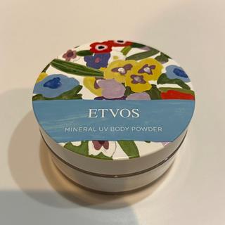 エトヴォス(ETVOS)のETVOS ミネラルUVボディパウダー(ボディパウダー)