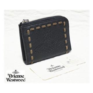 ヴィヴィアンウエストウッド(Vivienne Westwood)の新品【ヴィヴィアンウエストウッド】本革 パンチングオーブ柄 4連キーケース 黒(キーケース)