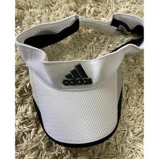 アディダス(adidas)のadidas(アディダス) サンバイザー(サンバイザー)
