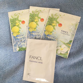 ファンケル(FANCL)のファンケル FANCL ホワイトニングマスク 4枚(パック/フェイスマスク)