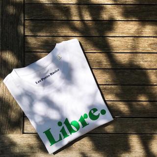ドゥロワー(Drawer)の22日迄 les petits basics 'Libre.' tee グリーン(Tシャツ(半袖/袖なし))