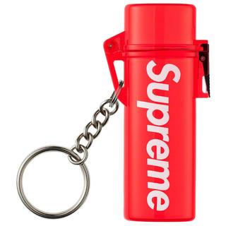 シュプリーム(Supreme)のWaterproof Lighter Case Keychain Red(タバコグッズ)