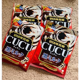 ユーハミカクトウ(UHA味覚糖)のCUCU♡黒糖 ミルク(菓子/デザート)