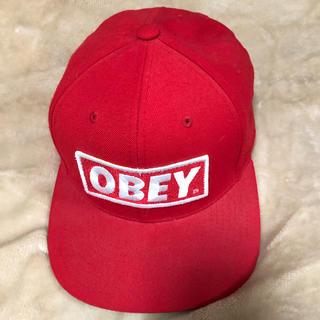 オベイ(OBEY)のOBEY ストレートキャップ(キャップ)