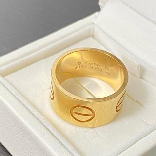 カルティエ(Cartier)のカルティエ  ハイラブリング K18 20号 新作(リング(指輪))