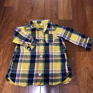 エフオーキッズ(F.O.KIDS)のアプレレクール チェック羽織り ワンピース(ワンピース)