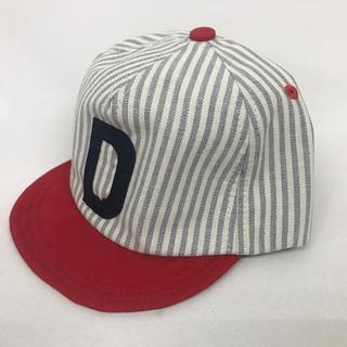 ドアーズ(DOORS / URBAN RESEARCH)の新品 畳めるストライプキャップ RD52(帽子)