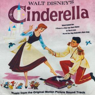 ディズニー(Disney)のディズニー クッションカバー シンデレラ(クッションカバー)
