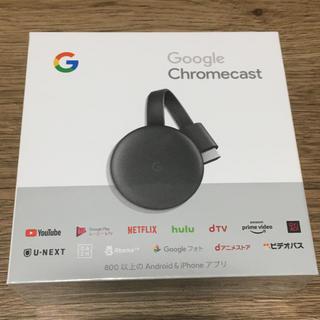 アンドロイド(ANDROID)のGoogle Chromecast 第三世代 2K対応 GA00439-JP(映像用ケーブル)