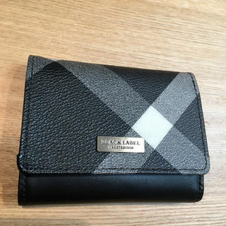 ブラックレーベルクレストブリッジ(BLACK LABEL CRESTBRIDGE)のブラックレーベル 折り畳み財布 オシャレ(折り財布)