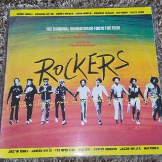 レコード ロッカーズ ROCKERS サントラ(映画音楽)