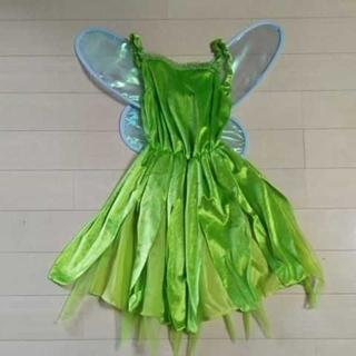 ディズニー(Disney)の女の子 ティンカーベル 衣装 コスチューム(衣装一式)