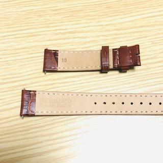モレラート(MORELLATO)のモレラート 腕時計ベルト 本革カーフ(レザーベルト)
