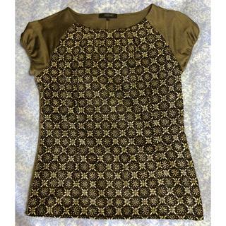 アルティザン(ARTISAN)のARTISAN 茶色ブラウス(シャツ/ブラウス(半袖/袖なし))