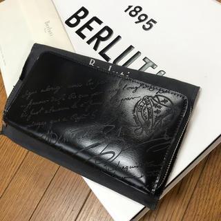 ベルルッティ(Berluti)の極美品定価約16万 20SSベルルッティBERLUTIイタウバネオ長財布(長財布)