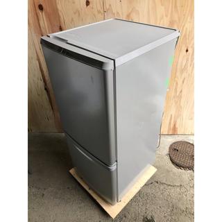 パナソニック(Panasonic)のB/Panasonic 2ドア冷凍冷蔵庫 NR-B148W-S 2016(冷蔵庫)