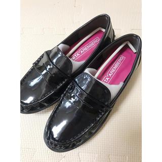 アニタアレンバーグ(ANITA ARENBERG)のローファー ANITA ARENBERG 黒(ローファー/革靴)