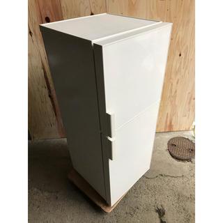 ムジルシリョウヒン(MUJI (無印良品))のA/MUJI 2ドア冷凍冷蔵庫 AMJ-14D-1 2016(冷蔵庫)