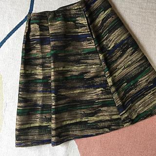 オータ(ohta)のohta ジャガードスカート(ひざ丈スカート)