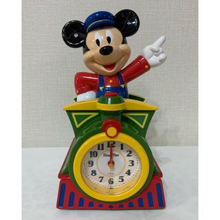 ディズニー(Disney)のミッキーマウス目覚まし時計(置時計)