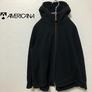 アメリカーナ(AMERICANA)の【Americana】Aライン ジップアップパーカー(パーカー)