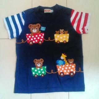 ミキハウス(mikihouse)のトロッコ Tシャツ 半袖 プッチー(Tシャツ/カットソー)
