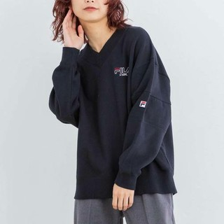 X-girl - エックスガール SWEAT V-NECK TOP