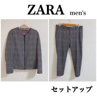 ザラ(ZARA)のZARA♥︎ジャケット パンツ 上下セット セットアップ スーツ(セットアップ)