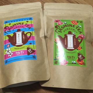 カルディ(KALDI)のカルディ台湾ジャスミン茶ティーバッグ5p 2袋(茶)