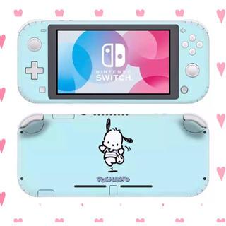ポチャッコ 青 水色 スキンシール スイッチ Switch サンリオ シンプル(携帯用ゲーム機本体)