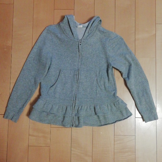 GU(ジーユー)のGU  パーカー  キッズ/ベビー/マタニティのキッズ服女の子用(90cm~)(ジャケット/上着)の商品写真