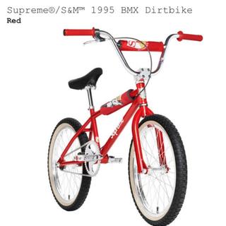 シュプリーム(Supreme)のSupreme S&M 1995 BMX Dirtbike 新品未使 国内正規(自転車本体)