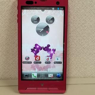 ディズニー(Disney)のドコモ Android スマホ F-08D(スマートフォン本体)