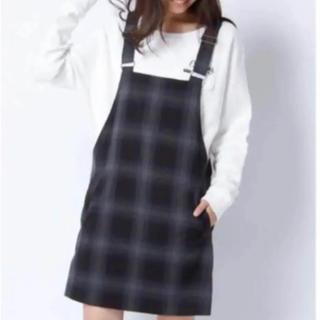 ワンピース ジャンパースカート 韓国ファッション