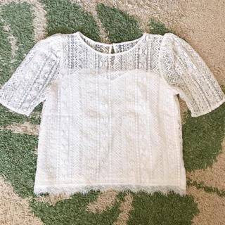 アルシーヴ(archives)の#アルシーヴ #archives レースTシャツ(Tシャツ/カットソー(半袖/袖なし))