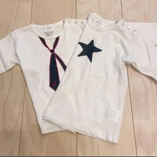アニエスベー(agnes b.)の2枚セット アニエス・ベー 長袖Tシャツ(シャツ/カットソー)
