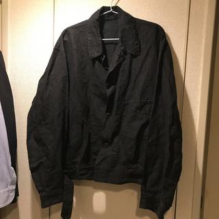 COMOLI - comoli 19ss ラミーリネンベルテッドジャケット size:3