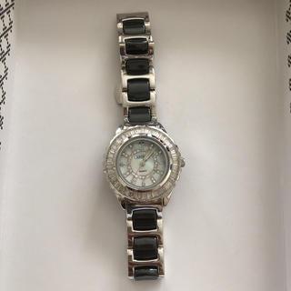 アビステ(ABISTE)のアビステ セラミックベルト腕時計 お値下げ(腕時計)