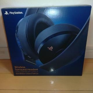 プレイステーション(PlayStation)のPlayStation ワイヤレスサラウンドヘッドセット(その他)