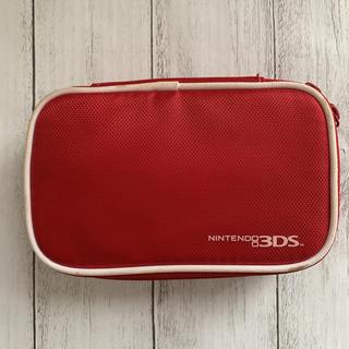 ニンテンドー3DS(ニンテンドー3DS)のニンテンドー 3DSケース レッド(その他)