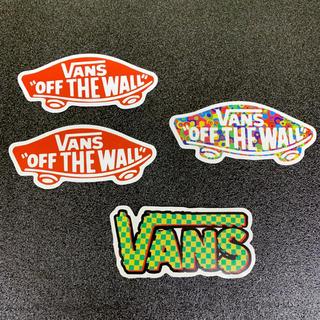 """ヴァンズ(VANS)の◆検品済輸入品◆ 4枚セット VANS """"OFF THE WALL"""" ステッカー(ステッカー)"""