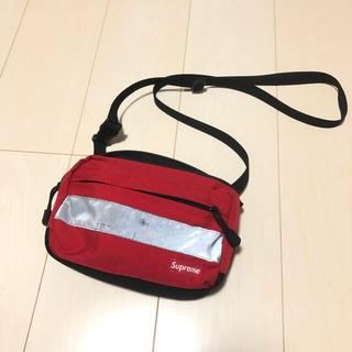 シュプリーム(Supreme)のsupreme 14fw hi-vis shoulder bag 赤(ショルダーバッグ)
