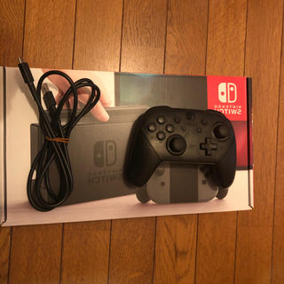 ニンテンドースイッチ(Nintendo Switch)のNintendo Switch グレー 旧型 コントローラーつき(家庭用ゲーム機本体)